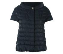short sleeve puffer jacket