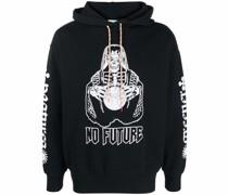 "Hoodie mit ""No Future""-Print"