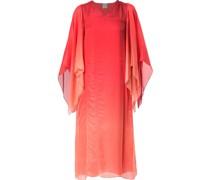 Cape-Kleid mit Farbverlauf