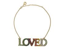 'Loved' Halskette
