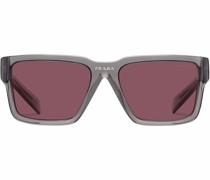 Runway rectangle frame sunglasses