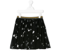 Teen stars and planets voile skirt