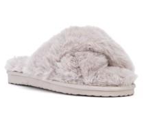 Slipper mit Faux Fur