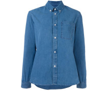 A.P.C. Button-down-Jeanshemd