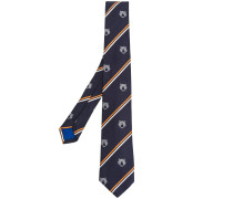 stripe tiger tie