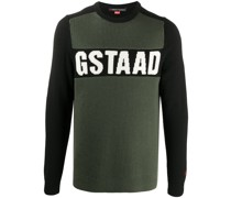 'Gstaad' Intarsien-Pullover