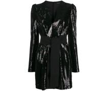 P.A.R.O.S.H. Pilled sequin dress