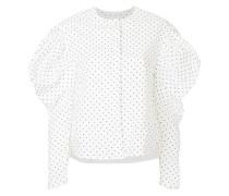 mutton sleeve blouse