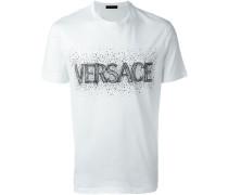 T-Shirt mit verziertem Logo-Print