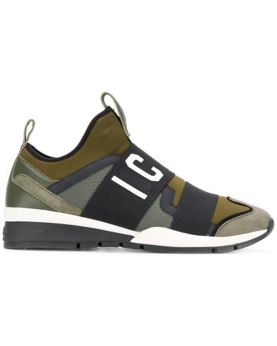 """Sneakers mit """"Icon""""-Logo"""
