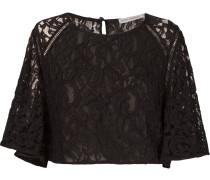 'marescot' lace crop top