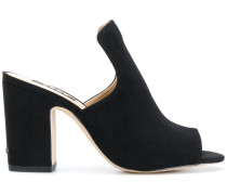open-toe heeled mules
