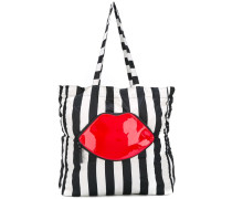 Shopper mit Lippenmotiv - women - Nylon/PVC