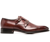 Monk-Schuhe mit Glanzoptik