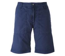 Shorts mit Camouflage-Saum