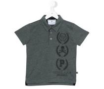 Poloshirt mit Print - kids - Baumwolle - 10 J.