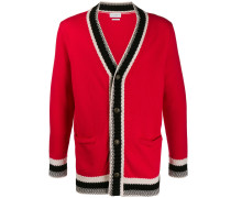 Cardigan in Colour-Block-Optik
