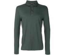 longsleeved polo shirt