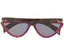 'FFluo' Cat-Eye-Sonnenbrille