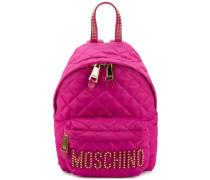 Mini Rucksack mit gestepptem Design