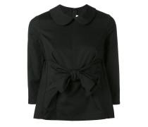 Bluse mit Bubikragen - women - Baumwolle - XS