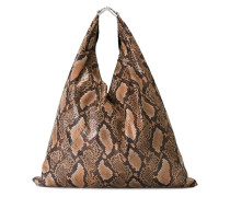 Handtasche mit Schlangenleder-Effekt - women