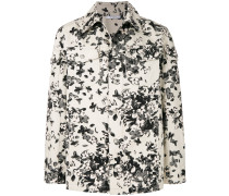 floral shirt jacket