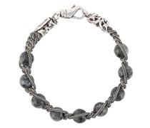 Kettenarmband mit Perlen