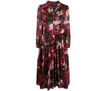 'Aster' Kleid mit Blumen-Print