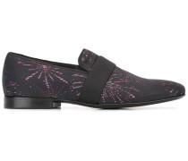 Loafer mit Feuerwerk-Prints
