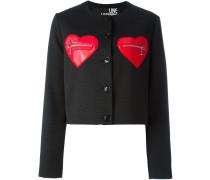 Jacke mit herzförmigen Taschen