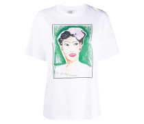 T-Shirt mit Billie-Holiday-Print