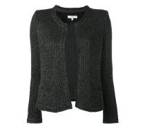 - metallic knit cardigan - women