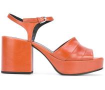 Sandalen mit Blockabsatz - women - Leder - 36