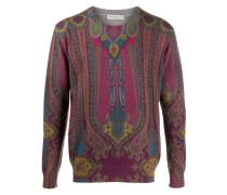 Pullover mit Paisley-Print