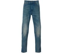 Jeans mit Tiger-Patch