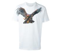 - T-Shirt mit Adler-Print - men - Baumwolle - XS