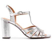 Sandalen mit T-Riemen 76mm
