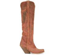 Texan knee high boots