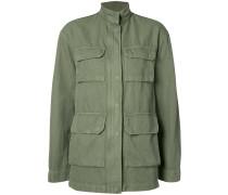 Lockere Jacke im Military-Look