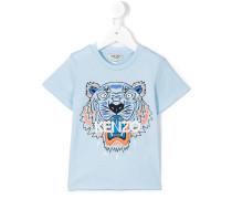 T-Shirt mit Tiger-Print - kids - Baumwolle - 8