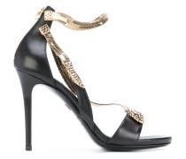 Sandalen mit Schlangen-Motiv