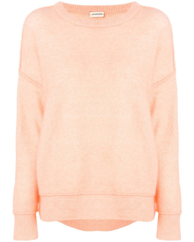 Paspelierter Pullover
