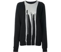 Sweatshirt mit kunstvollem Print