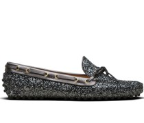 Loafer mit Glitter-Effekt