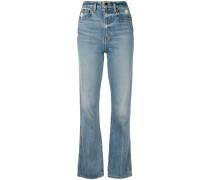 Hoch sitzende 'Danielle' Jeans