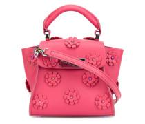 Handtasche mit floralen Verzierungen