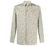 Hemd mit floralem Paisley-Print