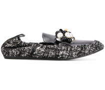 loafers with embellished detail