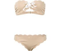 'Antibes Strapless Top & Tie Bottom' Bikini